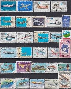 Image 3 - Самолёт, 250 шт./лот, без повторов, почтовые марки без повторов с почтовой маркой со всего мира для сбора
