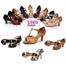 Туфли для бальных танцев сальса танго латиноамериканских обувь