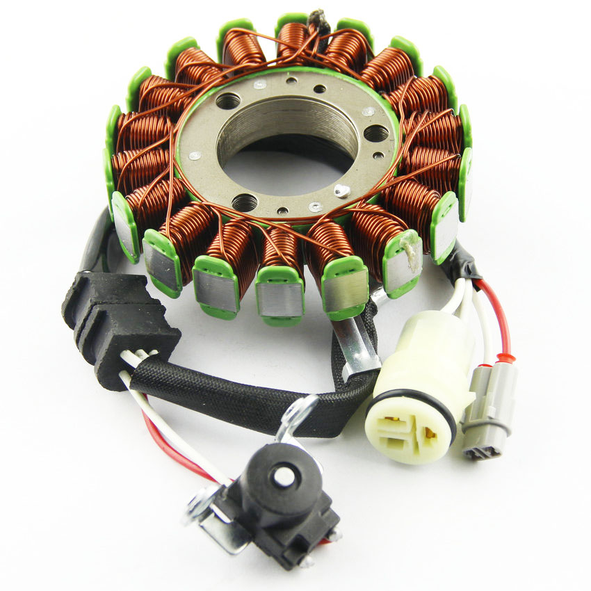 Motorcycle Ignition Magneto Stator Coil For YAMAHA YFZ450R 2009 2018 YFZ450 2010 2011 18P 81410 00