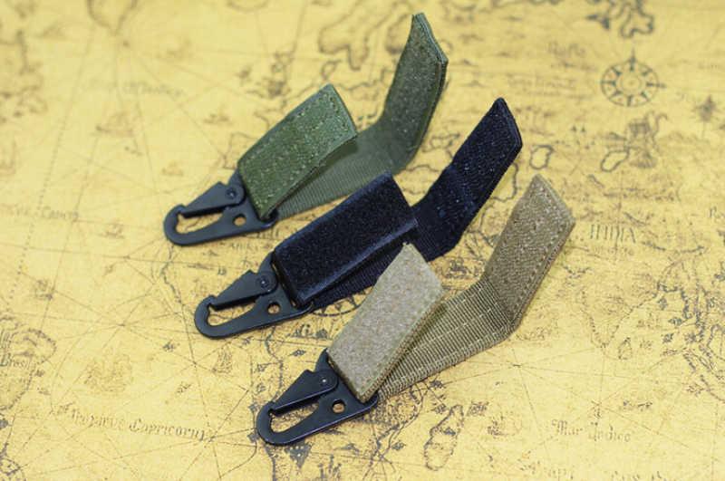 Quickdraw Toka Açık Survival Yürüyüş Kamp Ekipmanları Carabiner tuşları için Askeri Avcılık Dokuma Toka Taktik Kemer