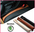2 PC SKODA fabia Octavia Roomster Superb Yeti Rápida Spaceback Almofada Do Assento de Carro Estilo Do Carro Interior Automotivo Suprimentos À Prova de Fugas