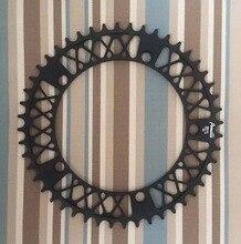 цены на Fixed Gear Bike Crankset  Disc BCD 144 MM 52T  Single Speed Fixie Bike Crank Plate  Bike Crankset Plate Bicycle Accessories  в интернет-магазинах