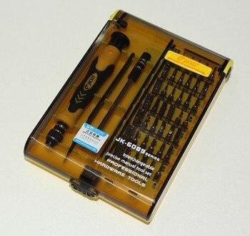JACKLY 45 in 1screwdriver Set Torx screwdriver kit mobile phone repair tool precision Magnetic Screwdriver set watch repair tool