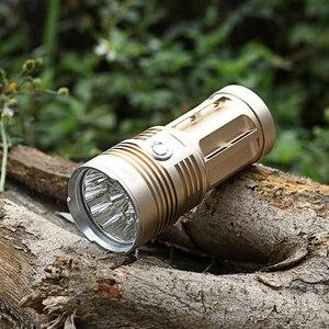 Image 5 - Linterna LED potente 3T6 4T6 5T6 7T6 8T6 9T6 18650, luz táctica Ultra brillante, lámpara portátil, 5 modos de caza y camping