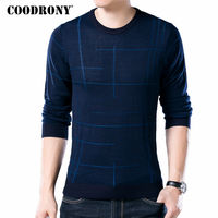 COODRONY Soft Cashmere Sweaters O Neck Wool Pullovers 2017 Autumn Winter Warm Sweater Men Brand Clothing