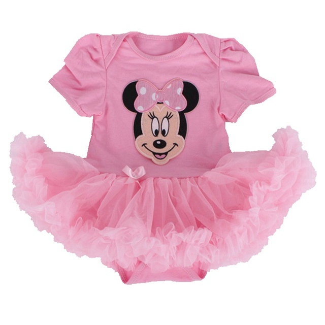 Cute Minnie Party Girls Dresses Summer 2016 Vestido Bebe Fantasia Infantil Baby Jurkjes Dress Baby Girl Clothes Infant-Clothing