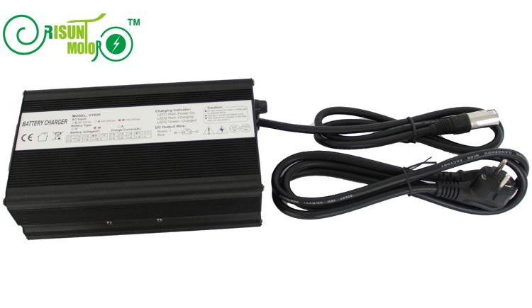 ConhisMotor 42V 12A Fast Charger Aluminium Case For 36V Lithium Ion BatteryConhisMotor 42V 12A Fast Charger Aluminium Case For 36V Lithium Ion Battery