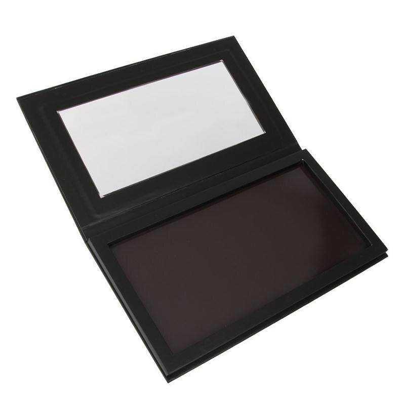 Coosei Kosong Magnetic Eyeshadow Palette Naked Makeup Matte Hitam - Riasan - Foto 2