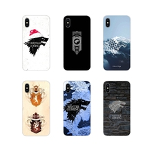 Mobile Phone Cases Game of thrones House Stark wallpaper For Xiaomi Mi6 A1 5X 6X Redmi Note 5 5A 4X 4A 4 3 Plus Pro pocophone F1