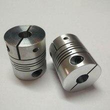 BR алюминиевый сплав эластичная резьба обмотки гибкое соединение D20 L25 кодирование для чпу шаговый