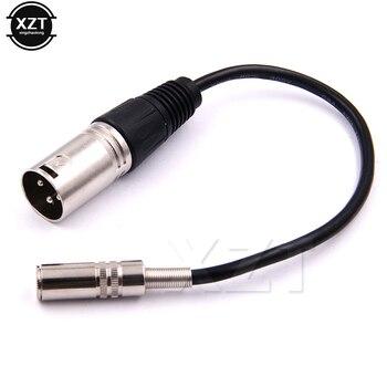 PZ Newest Hot XLR 3 5 Audio Line Cable XLR Male 3 5mm Female Audio