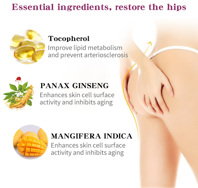 Mango Sexy Buttock Enhancement Cream Improves Back Leg Pain Eliminate Printing Firming buttock Effective Shape Hip Curve TSLM1 4