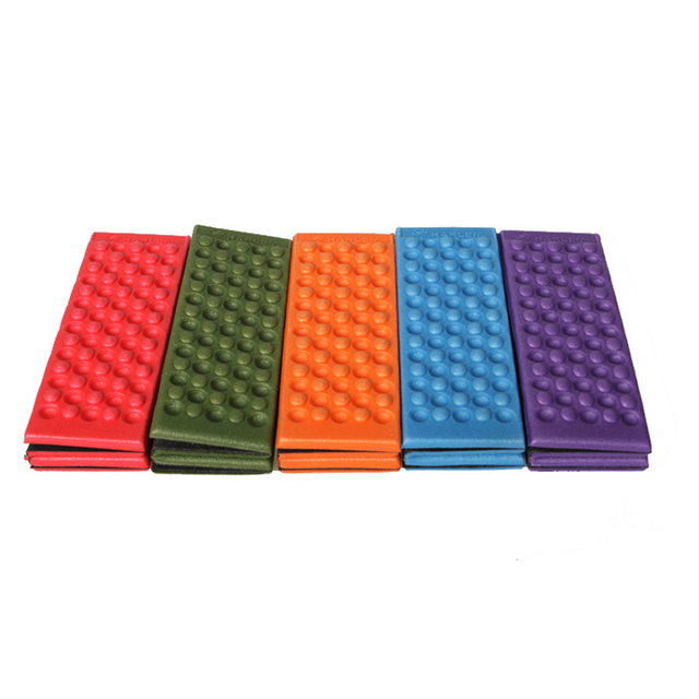 38x27x1cm Folding XPE Foam Sitting Chair Mat Waterproof Non-slip Outdoor Camping Picnic Beach Mat 35g Only 5 Colors