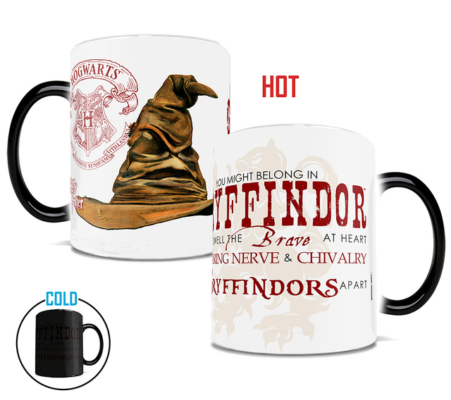Tazze tazze di Tassorosso Serpeverde mug Grifondoro di Hogwarts mug  Corvonero Cappello Parlante calore caffè rivelare b2ecbca82588