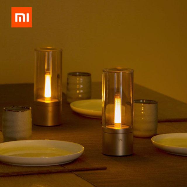 Original Xiaomi YEELIGHT Mijia Candela Smart Control Led Night Light,Atmosphere  Light For Mi Home App ,Xiaomi Smart Home Kits