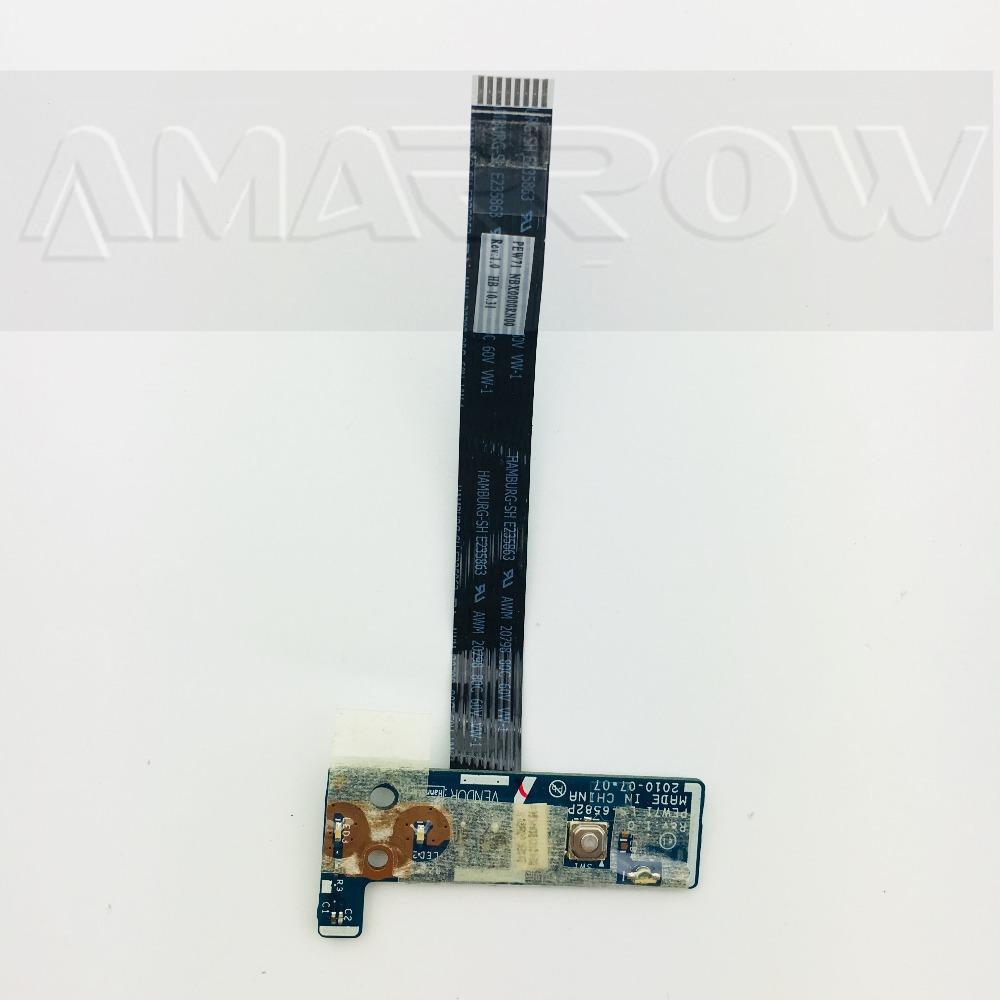 Original Free Shipping For ACER 5742 5741 5741G 5552 Power Button Board Switch Board LS-6582P