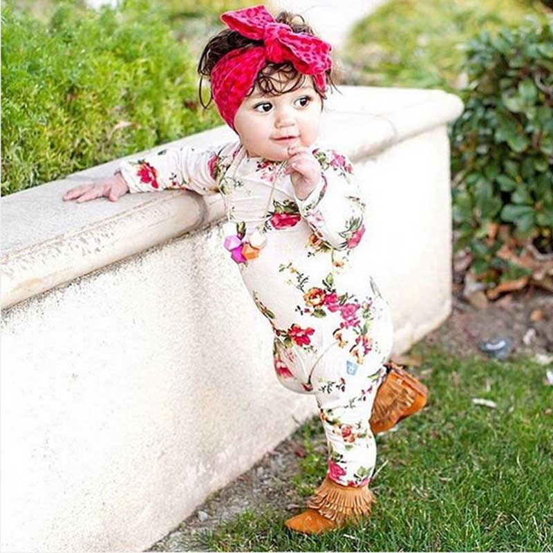 New Rose Floral Printed Rayon Clothing Baby Rompers Baby Girl Romper Floral Overalls for Children Baby Girls Clothes Jumpsuits baby race romper ruffle rompers for baby children xxl blue xxl dark purple xxxl rose xxxl black total $29
