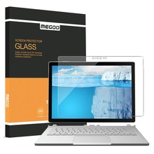 Megoo surface book 2 강화 유리 스크린 보호기, microsoft surface book/book 2 13.5/15 inch 호환