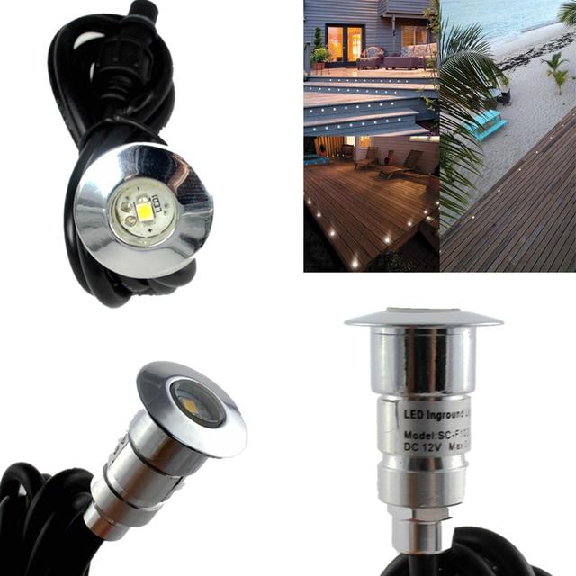 6 stks/set Invoegen Vloer Grond LED Ingegraven Verlichting Lamp voor ...