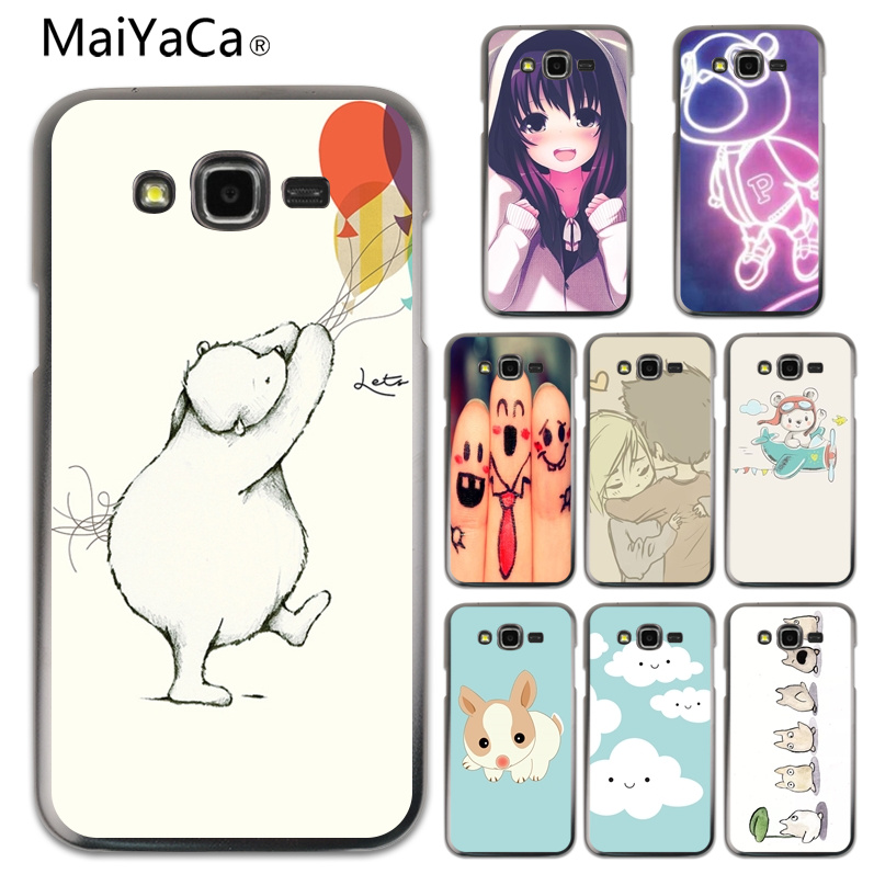 MaiYaCa Lets Celebrate Cute <font><b>Bear</b></font> Illust Art Diy Printing <font><b>Drawing</b></font> <font><b>phone</b></font> <font><b>case</b></font> For Samsung J1 J120 J5 J510 J7 J710 J3 <font><b>phone</b></font> cover