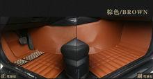 Cuero del personalizar alfombra alfombras de auto alfombras del piso del coche para chery tiggo lifan x60 620 pie haval h5/3 h6 estera accesorios anti-kick nueva