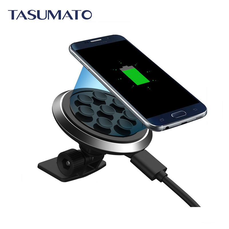 2016 Sucker Style Qi Car Wireless Chargers