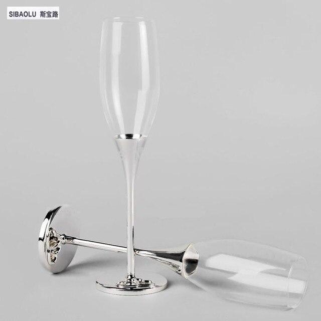 Wedding Champagne Gles Wine Sets Crystal Flutes