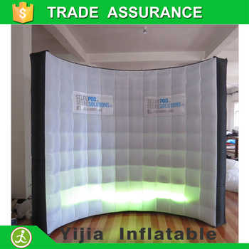 Free shipping DJ stage decoration High quality lighting photo booth backdrop Led inflatable wall - DISCOUNT ITEM  0% OFF All Category