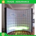 Frete grátis DJ stage iluminação da decoração de Alta qualidade photo booth fundo Levou parede inflável