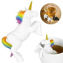 1pc Unicorn Tea Infuser Silicone Reusable Loose Tea bag Tea