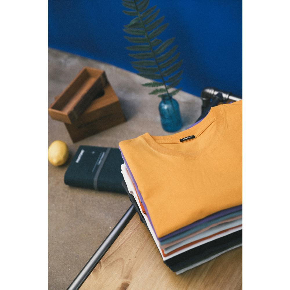 SIMWOOD 2019 été nouveau T-Shirt hommes 100% coton couleur unie décontracté t shirt bases o-cou haute qualité grande taille mâle Tee 190004