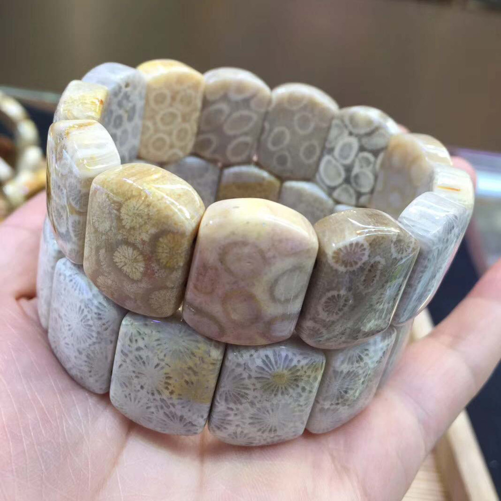 Natural Chrysanthemum stone beads bracelet natural DIY jewelry for woman gift wholesale !