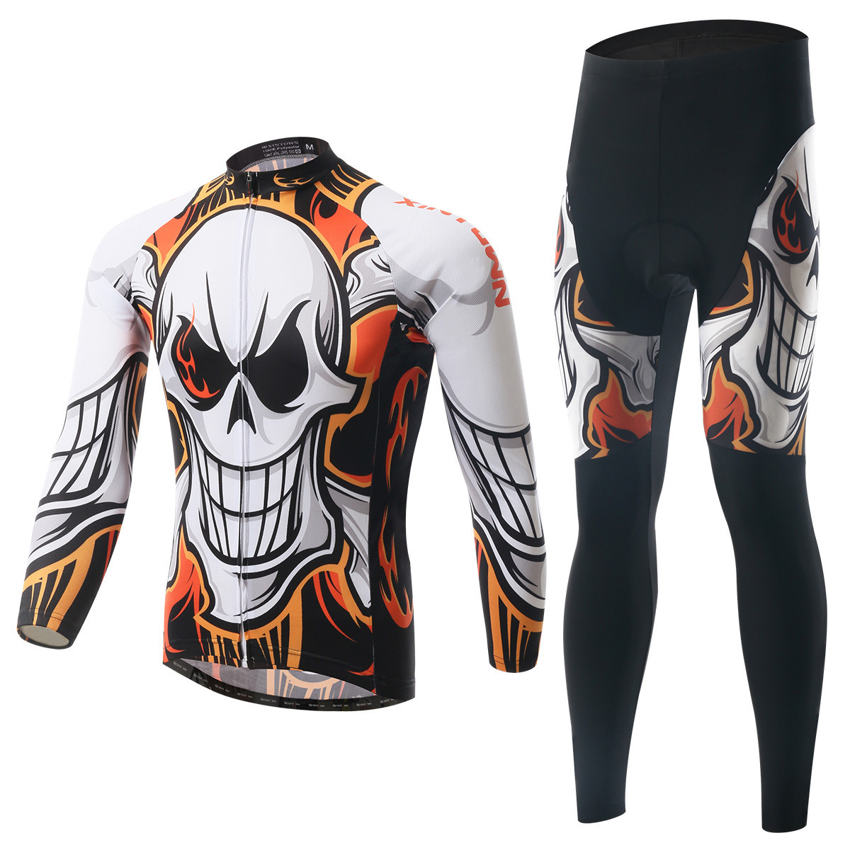 XINTOWN Cycling Jerseys Cycling Set Spring Long Sleeves Sets Autumn Sets Racing MTB Suit Maillot Bike Clothing Ropa Ciclismo xintown men s cycling clothing bike ropa ciclismo suit bicycle jerseys