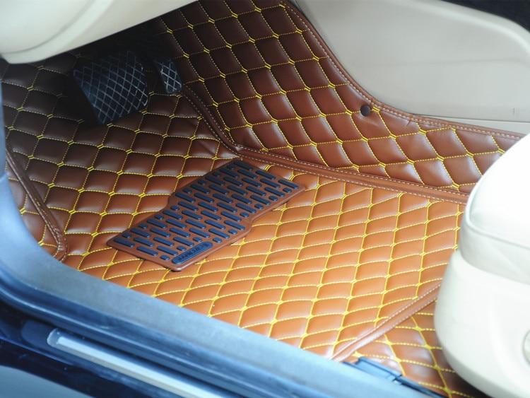 Free Shipping Full Set Car Carpet Covers 3d Leather Car