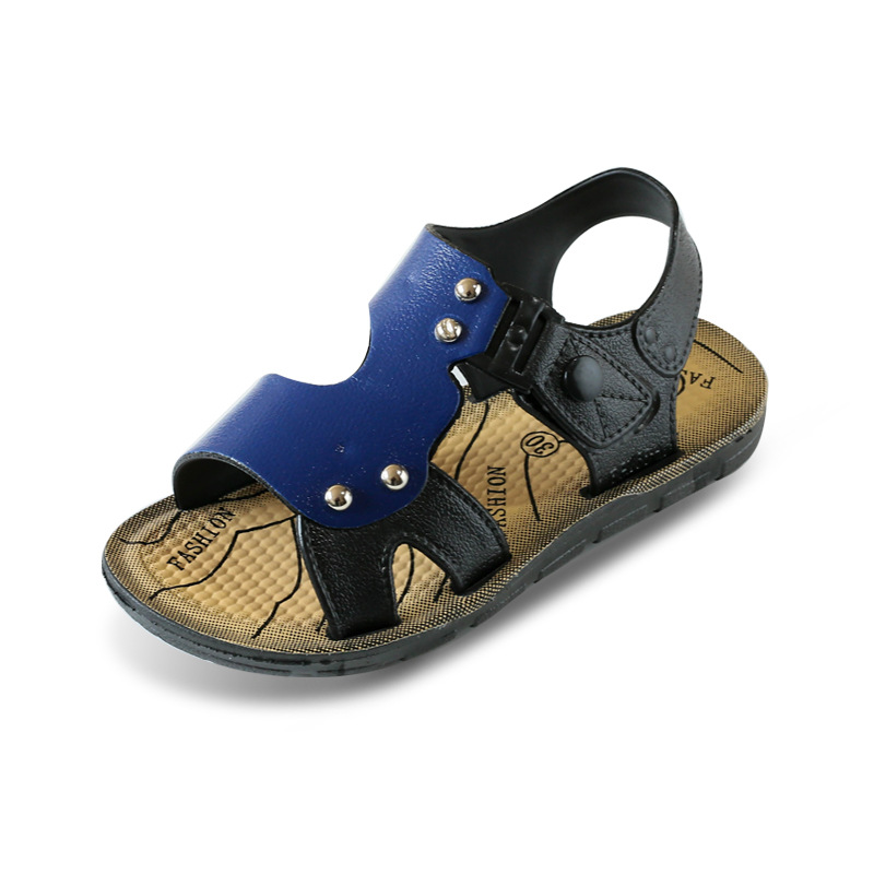 Boy Sandals 2018 New Korean Summer Anti-skid Baby Shoes Soft-soled Comfort Beach shoes Children Shoes
