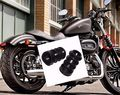 39mm Fork Rubber Cover Gaiters Gators Boots For Harley Sportster Dyna FX XL 883
