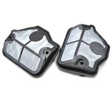 2PCS Chainsaw Air Filter Kit For HUSQVARNA 36 41 136 137 141 142 Chainsaw #530036582 / 530029811