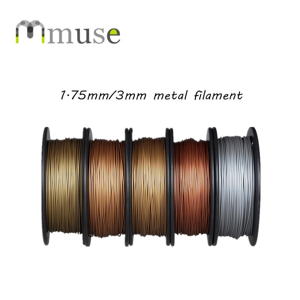 0.5kg 3D Printing Filament 30-40% Metal 3D Plastic Filament For Sale desktop 3d printing digital 3d printing for sale