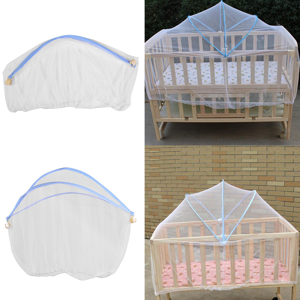 Baby Cradle Bed Mesh Mosquito Nets 2019 Foldable Summer Baby Arched Mosquitos Nets Portable Crib Netting For Infant Baby Cradle
