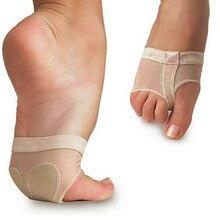 1 Pair Footful Foot Thong Toe Undies Ballet Dance Paws Metatarsal Forefoot Half Lyrical free shipping цена 2017