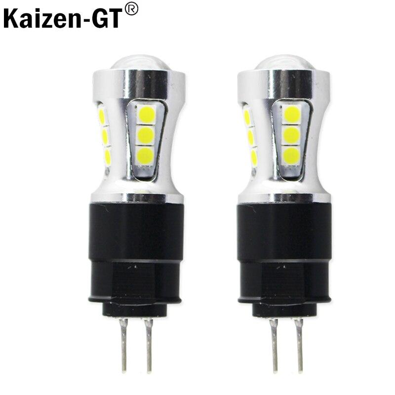 Kaizen-GT sans Erreur led drl lumière Hp24w 3030SMD 12 V g4 led Feux de jour ampoule lampe pour Citroen c5 et peugeot 3008