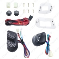 1set New Universal 12V/24V 3pcs Buttons Car Power Window Switches with Holder & Wire Harness #CA3938