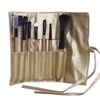 7PCS Make Up Brushes Set Soft Taklon Hair Comestic Powder Foundation Blush Eyeshadow Eyeliner Lip Beauty Makeup Kits Pack