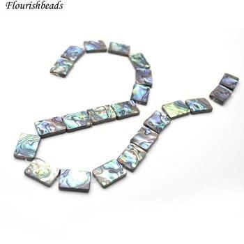 5e7f87576da8 Envío gratis 10x14mm 13x18mm facetas gris labradorita joyas rectángulo de  piedra Natural granos DIY Strand 15
