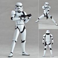 6 Star Wars Figure Action The Force Awakens Black Series Darth Vader Stormtrooper Model Toy For Kid's Gift
