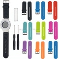 JAVRICKSports Fitness Silicone Watch Band Strap For Garmin Vivoactive / Approach S2 S4