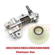 Oil Drive Pump Worm Chinese Chainsaw 4500 5200 5800 45CC 52CC 58CC