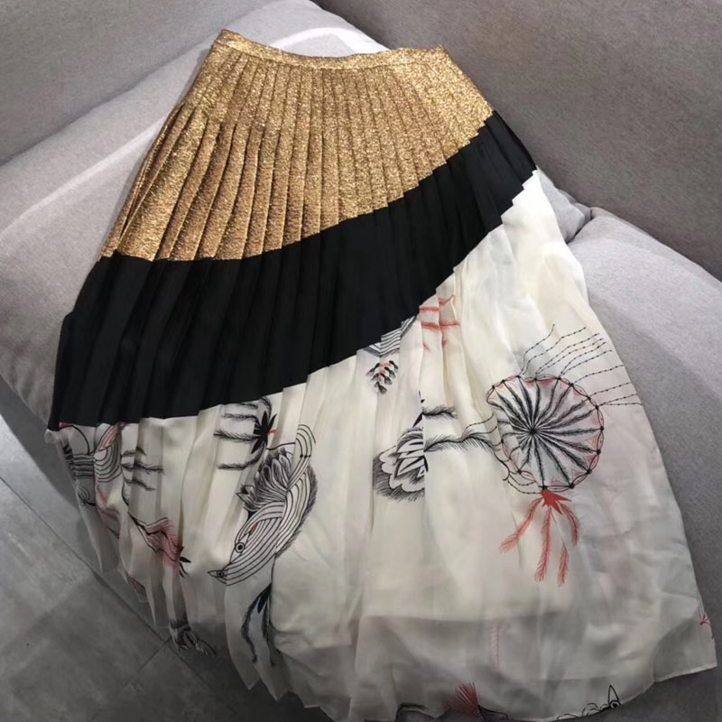 eb42ec60bb2 Moda De Para Dama Faldas Elegante Tobillo Vestido Mujeres 2019 Falda Nuevo  Calidad Las Superior longitud B41Fqd4Wwc
