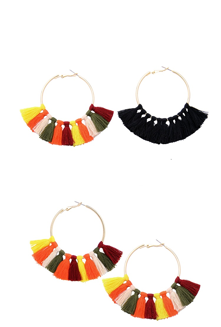 CHOW APINO AW 17 you must have the most fashion style tassel earrings for women