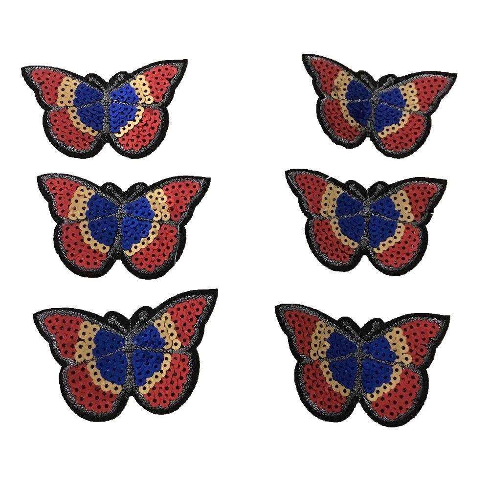 Sequins Πεταλούδα πεταλούδα για IKids Ρούχα - Τέχνες, βιοτεχνίες και ράψιμο - Φωτογραφία 4